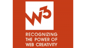Gold Winner W3 Award (Website), 2015