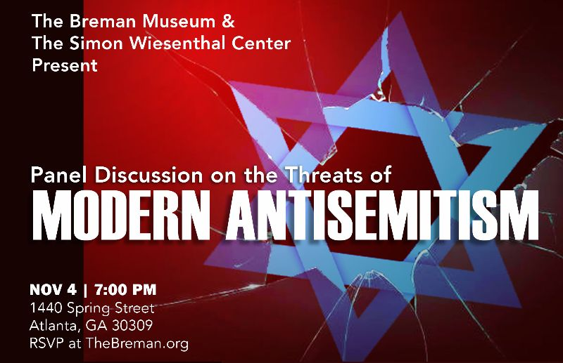 Panel Discussion on the Threats of Modern Anti Semitism