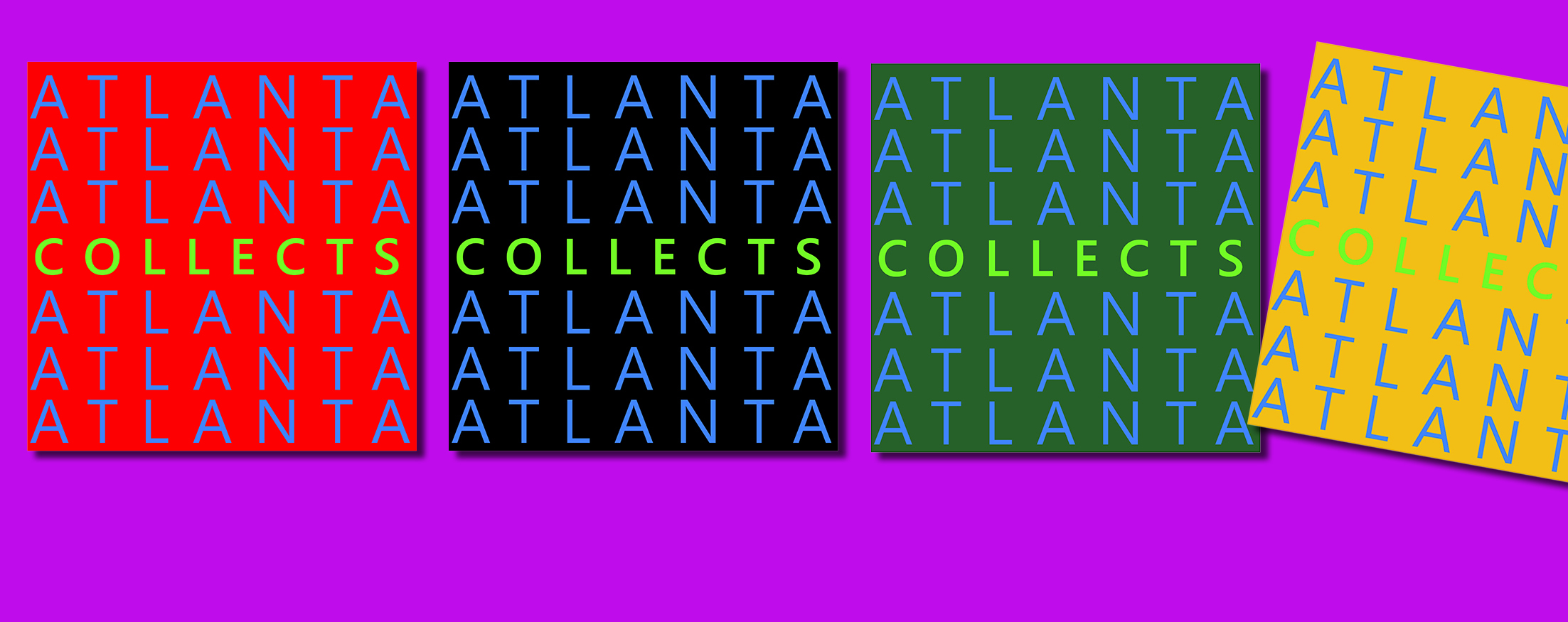 Opening of Atlanta Collects